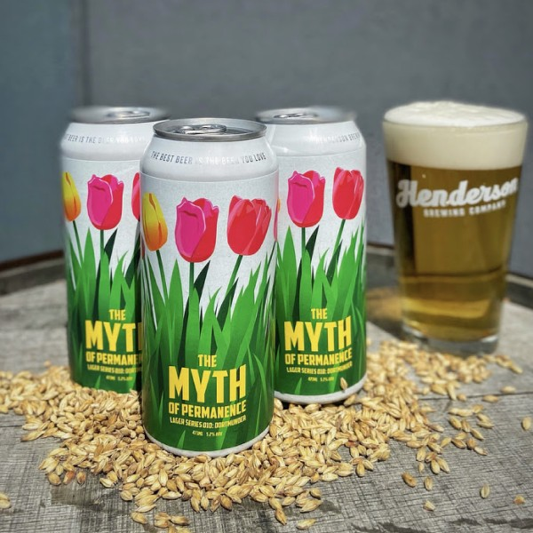 Henderson Brewing Myth of Permanence Lager Series Continues with Dortmunder