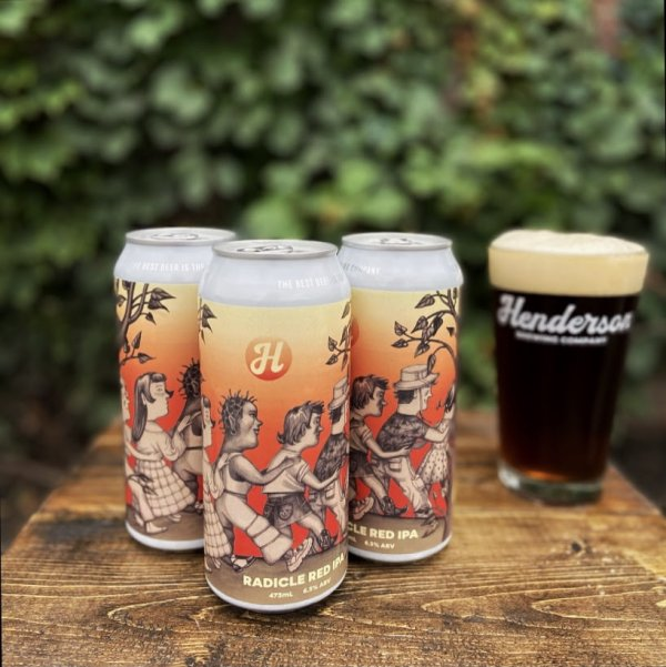 Henderson Brewing Ides Series Continues with Radicle Red IPA in Collaboration with Toronto Outdoor Art Fair