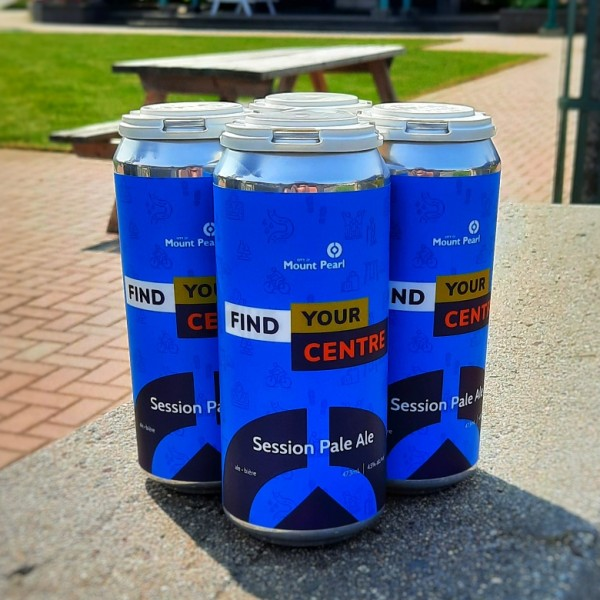Landwash Brewery and City of Mount Pearl Release Find Your Centre Session Pale Ale