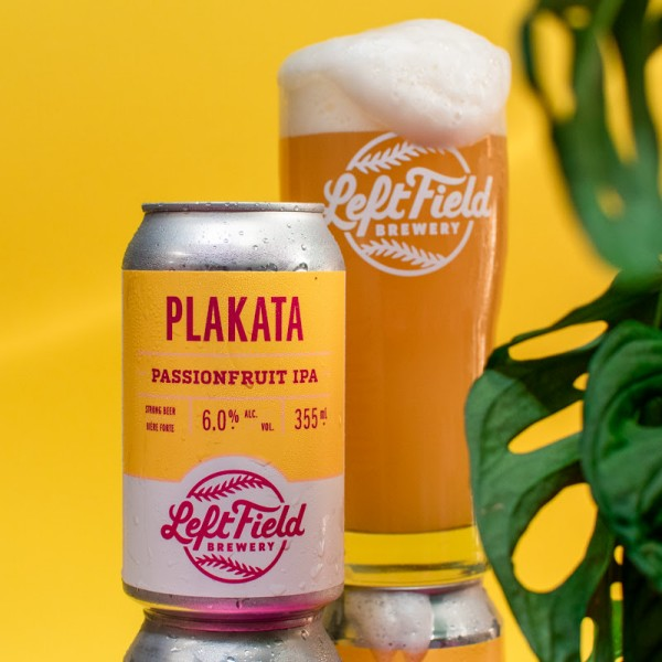 Left Field Brewery Releases Plakata Passionfruit IPA