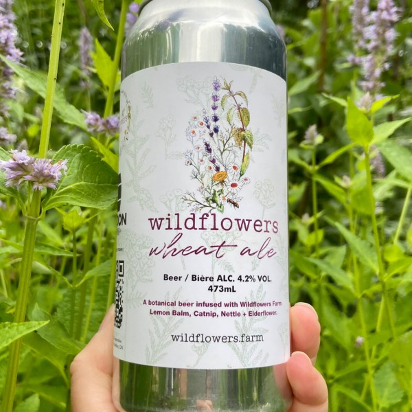 London Brewing and Wildflowers Farm Release Wildflowers Wheat Ale