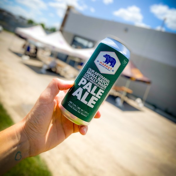 Market Brewing Releases Our Artisanal Small Batch Locally Made Micro Brewed Craft Pale Ale