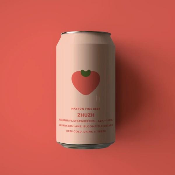 Matron Fine Beer Releases Strawberry Edition of Zhuzh Fieldbier