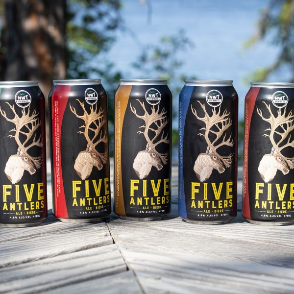 NWT Brewing Releases Five Antlers Ale for Caribou Conservation
