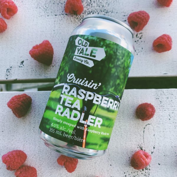 Old Yale Brewing Simply Steeped Series Continues with Cruisin' Raspberry Tea Radler