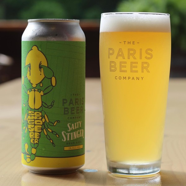 The Paris Beer Co. Releases Salty Stinger Sour Gose