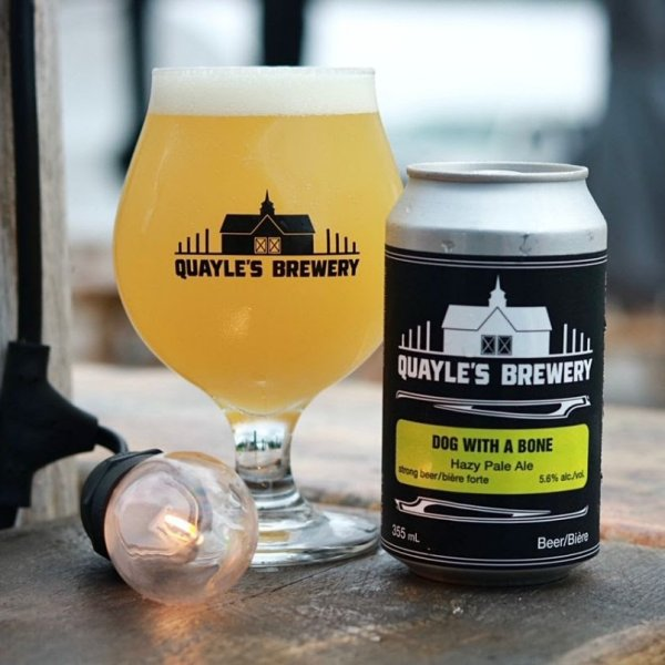 Quayle's Brewery Releases Dog With A Bone Hazy Pale Ale