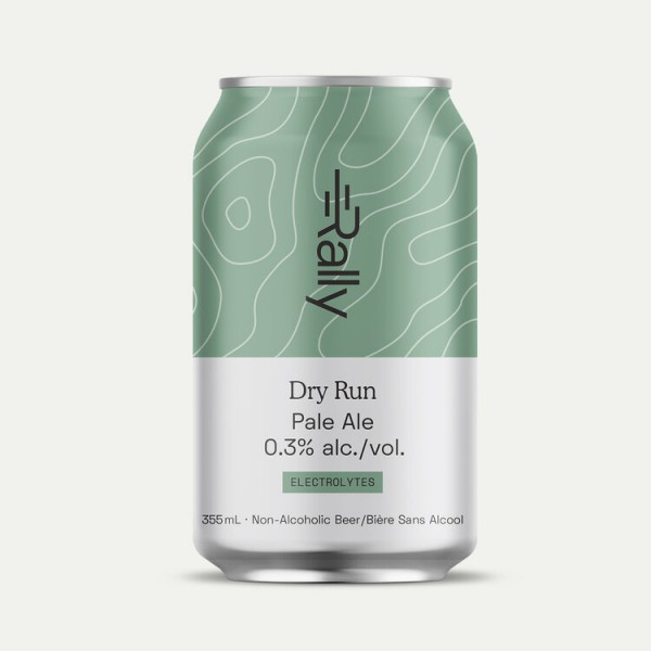 Rally Beer Company Releases Dry Run Non-Alcoholic Pale Ale