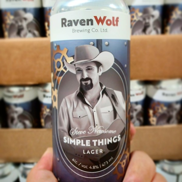 RavenWolf Brewing and Singer Steve Newsome Release Simple Things Lager