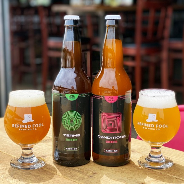 Refined Fool Brewing Releases Terms and Conditions Session IPAs