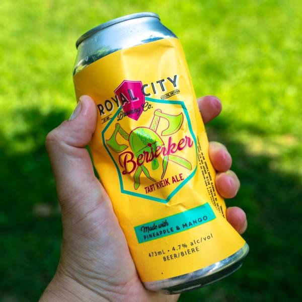Royal City Brewing Releases Berserker Tart Kveik Ale with Mango & Pineapple