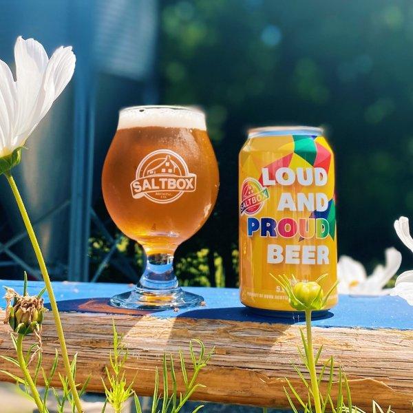 Saltbox Brewing Releases Loud & Proud Beer for Lunenburg PRIDE