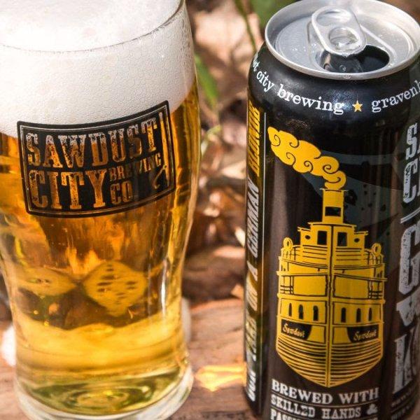Sawdust City Brewing Brings Back Golden Beach Hazy Pale Ale & Gateway Kölsch Lagered Ale