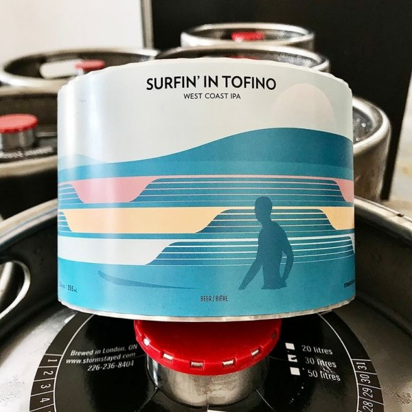 Short Finger Brewing and Storm Stayed Brewing Release Surfin' in Tofino IPA