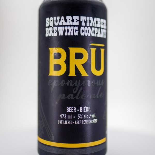 Square Timber Brewing Releases BRŪ Eponymous Pale Ale