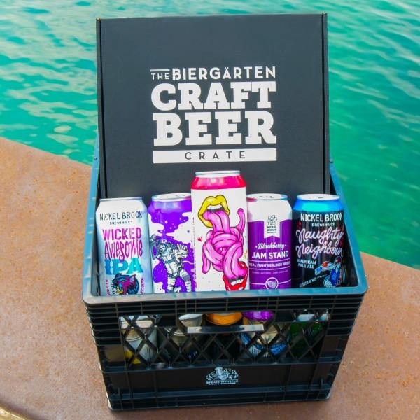 Steam Whistle Brewing and Nickel Brook Brewing Releasing Biergärten Craft Beer Crate Vol. 6
