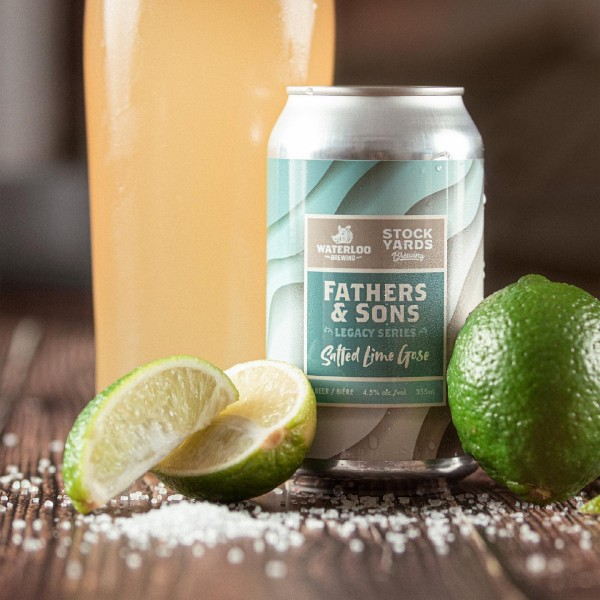 Stockyards Brewing and Waterloo Brewing Release Fathers & Sons Salted Lime Gose