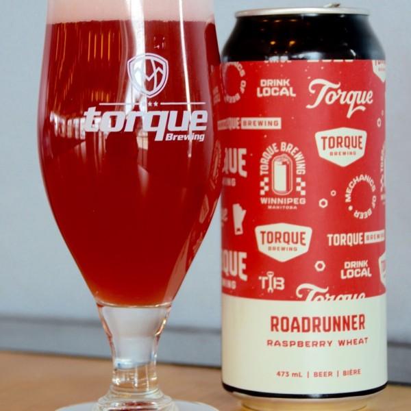 Torque Brewing Releases Roadrunner Raspberry Wheat