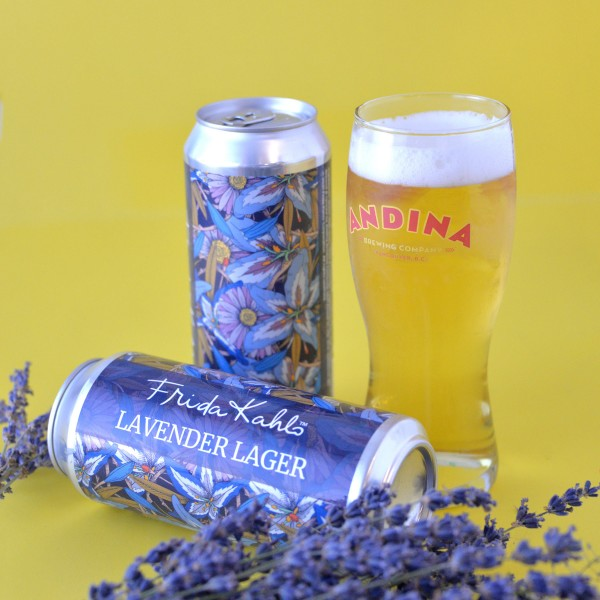 Andina Brewing Releases Frida Kahlo Lavender Lager