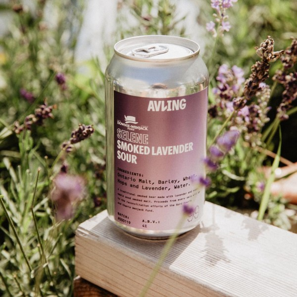 Avling Brewery Releases Selene Smoked Lavender Sour for Downie Wenjack Fund
