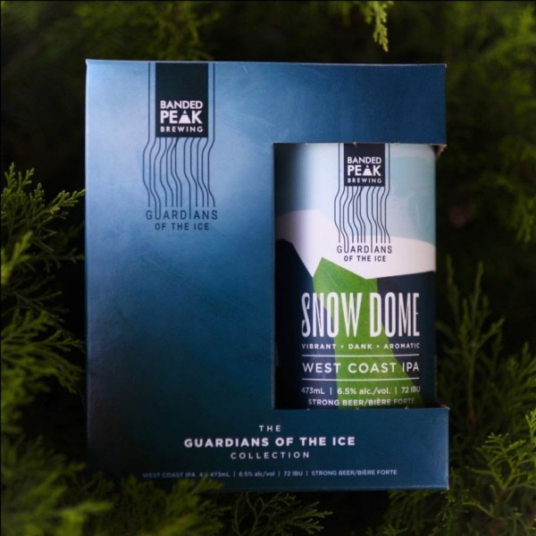 Banded Peak Brewing Guardians of the Ice Series Continues with Snow Dome West Coast IPA