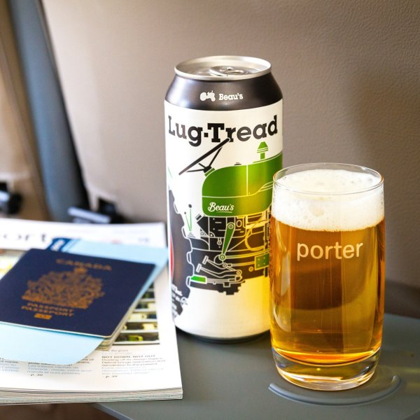 Porter Airlines Announces Partnership with Beau's Brewing