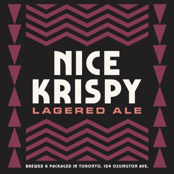 Bellwoods Brewery Releases Nice Krispy Lagered Ale