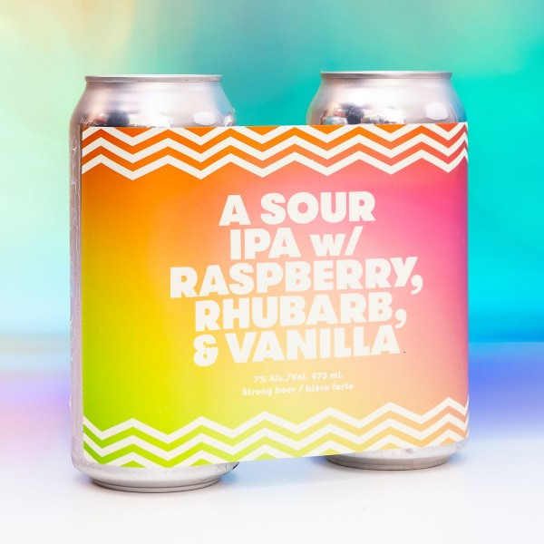 Bellwoods Brewery Releases A Sour IPA with Raspberry, Rhubarb & Vanilla