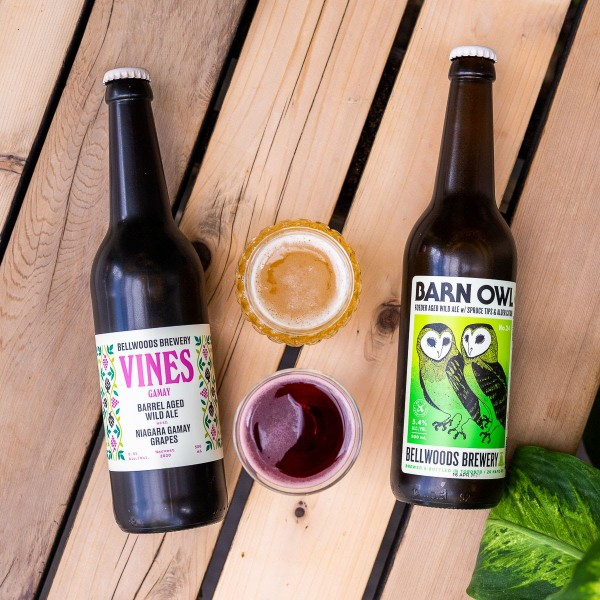 Bellwoods Brewery Releases Vines Gamay and Barn Owl No. 24 Barrel-Aged Ales