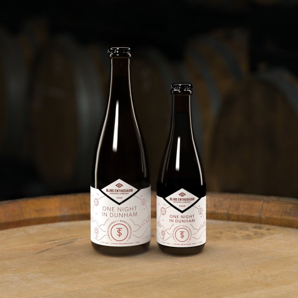 Blind Enthusiasm Brewing and Twin Sails Brewing Releasing One Night in Dunham Mixed Fermentation Ale