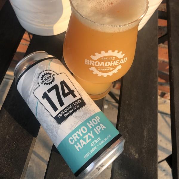 Broadhead Brewery 174 Taproom Series Continues with Cryo Hop Hazy IPA
