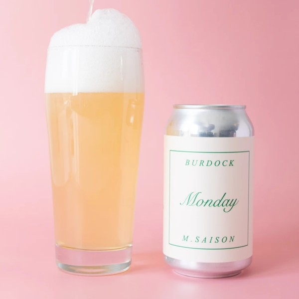 Burdock Brewery Releases Monday Microsaison