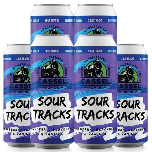 Cassel Brewery Releasing Sour Tracks Blueberry, Blackberry & Vanilla