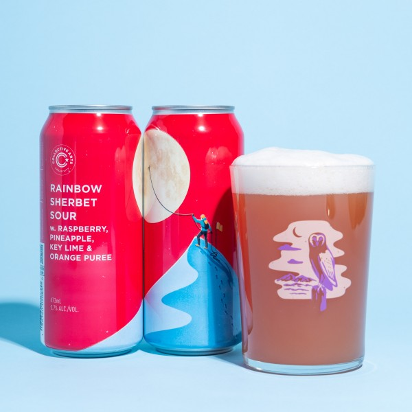 Collective Arts Brewing Releases Rainbow Sherbet Sour and Kiwi Sorbet Sour