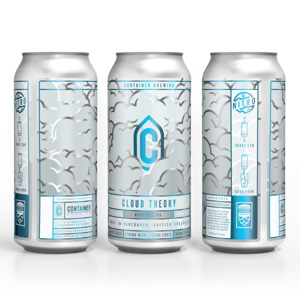 Container Brewing Releasing Cloud Theory V3 Nitro IPA