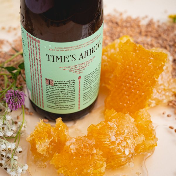 Dageraad Brewing Releases Time's Arrow Barrel-Aged Saison with Honey