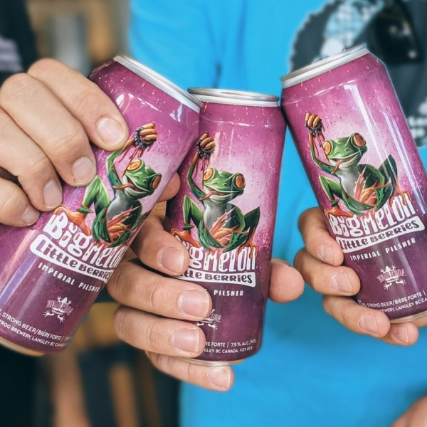 Dead Frog Brewery Releases Big Melon Little Berries Imperial Pilsner