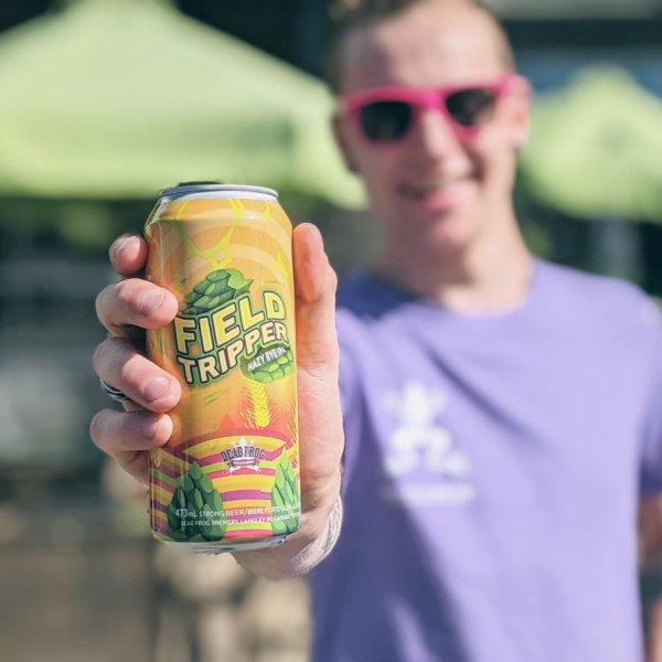 Dead Frog Brewery Brings Back Field Tripper Hazy Rye IPA