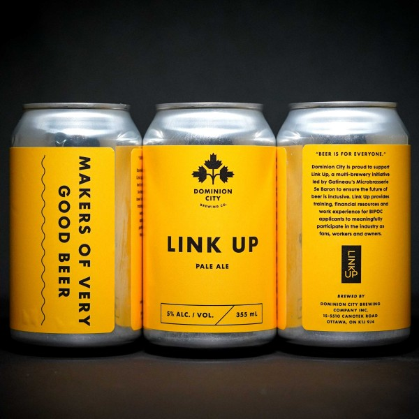 Dominion City Brewing Releases Link Up Pale Ale