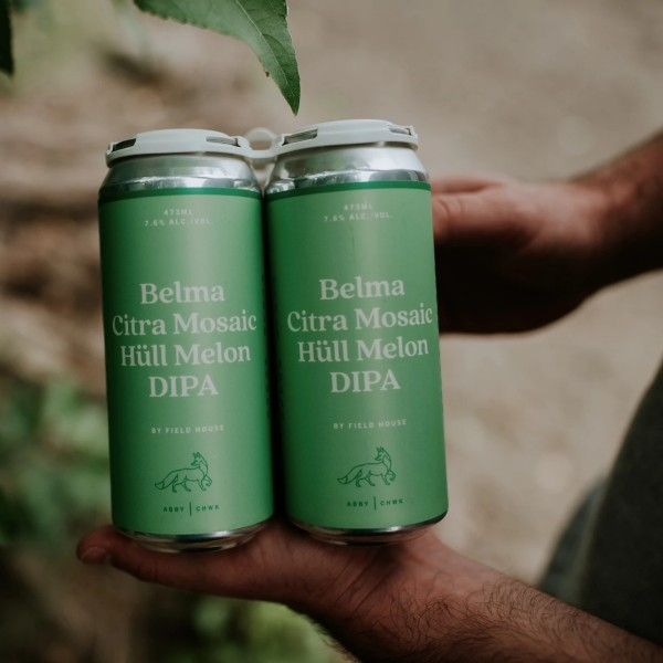Field House Brewing Releases Belma Citra Mosaic Hüll Melon DIPA
