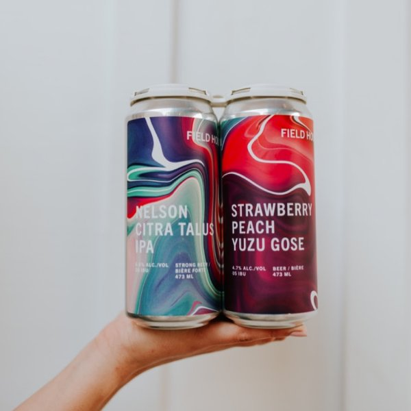 Field House Brewing and Superflux Beer Company Releasing Pair of Collaborations