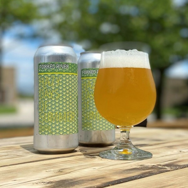 Forked River Brewing Releases Hazy Days of Summer DIPA