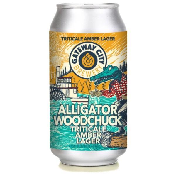 Gateway City Brewery Releases Alligator Woodchuck Triticale Amber Lager