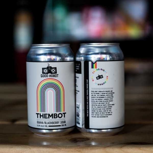Good Robot Brewing Releases ThemBot Guava & Blackberry Sour