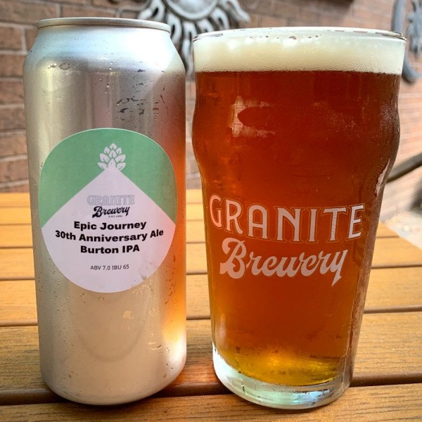 Granite Brewery Releases Epic Journey Burton IPA for 30th Anniversary