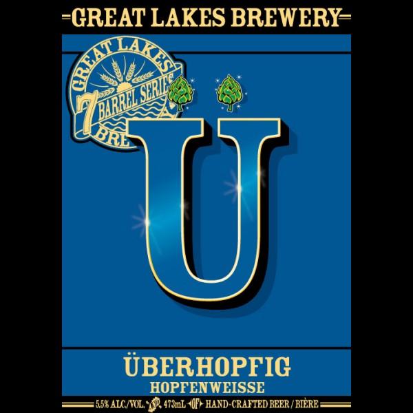 Great Lakes Brewery Releasing Überhopfig Hopfenweisse