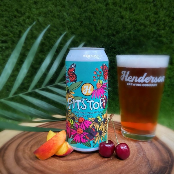 Henderson Brewing Ides Series Continues with Pitstop Stonefruit Table Beer