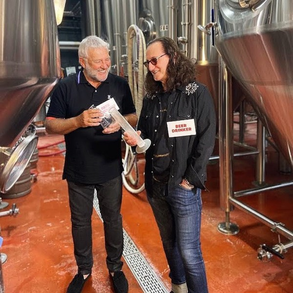 Henderson Brewing and Rush Releasing Rush Canadian Golden Ale