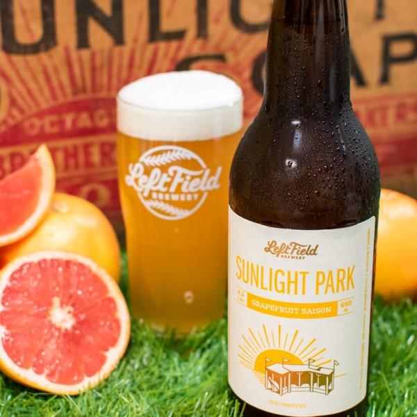 Left Field Brewery Brings Back Sunlight Park Grapefruit Saison