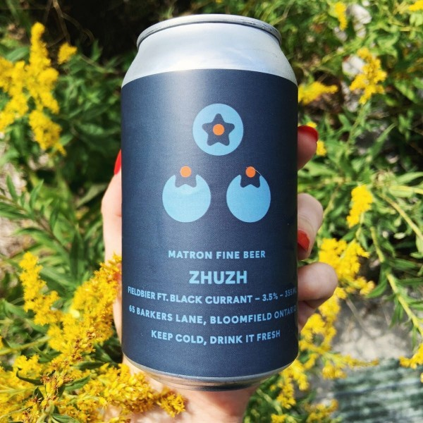 Matron Fine Beer Releases Black Currant Edition of Zhuzh Fieldbier